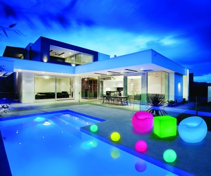 Bliss led furniture home pool