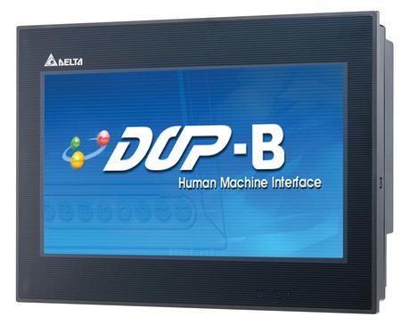 Delta Electronics DOP-B series touch-screen HMIs