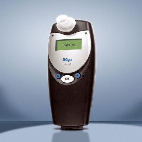 Draeger Interlock XT breath-alcohol measuring instrument