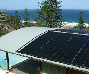 Heliocol solar heating system
