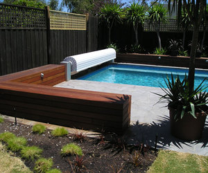 Sunbather pool covers and blankets