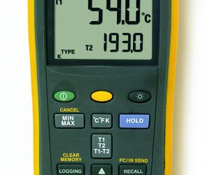 Fluke 54-2B 2Ch data logging temperature meter