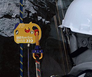Rope safe fall protection