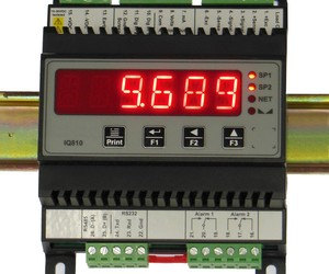 Iq810 load cell railmount display from instrotech