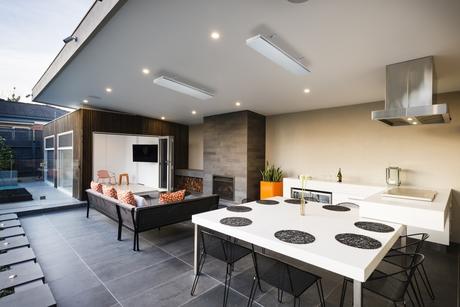 Heatstrip Elegance Installed Outdoor Living Area Mr A