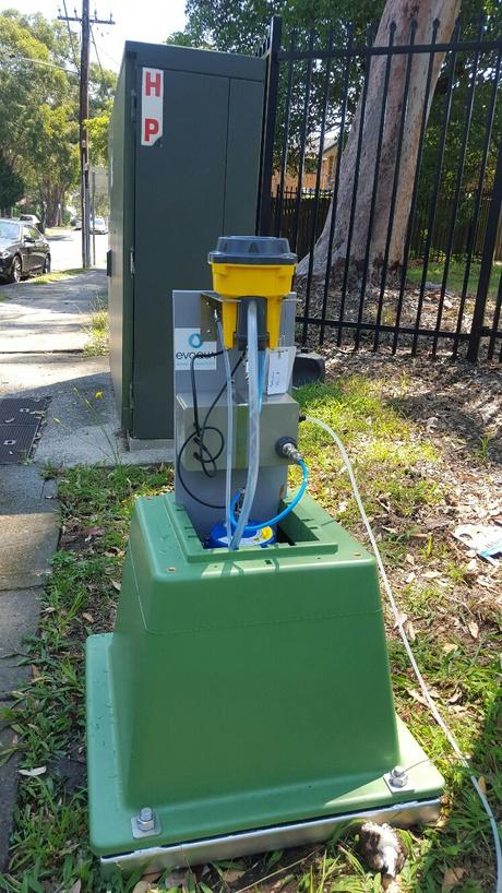 Hydraclam sydney water install 2