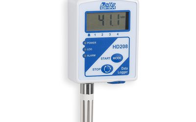 Delta Ohm HD208 series mini data loggers