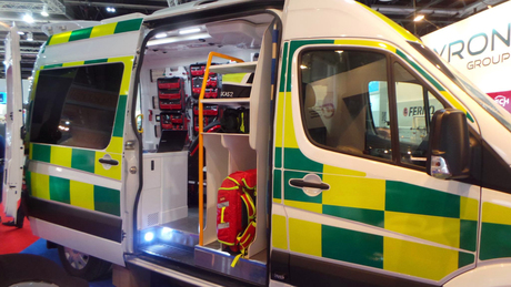 Smart ambulance boasts improved comms