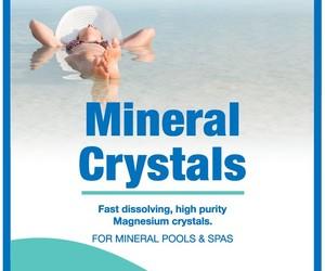 Waterco aqua health mineral crystals