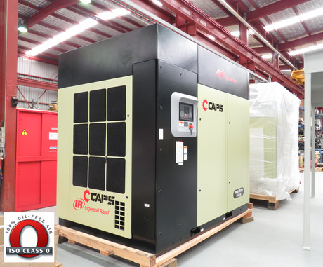 Ingersoll Rand Nirvana Oil-Free Compressor