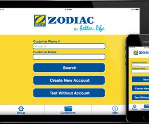 Zodiac puresolutions app screenshot