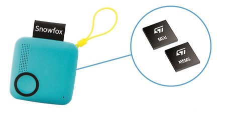Snowfox trackerphone image