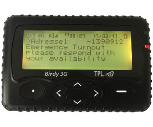 birdy 3g two way pocsag cellular pager