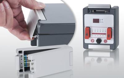 BOPLA Bocube Alu aluminium enclosure with quick-release fastener
