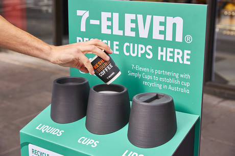485584fad4 7-Eleven and Simply Cups team up to recycle takeaway cups