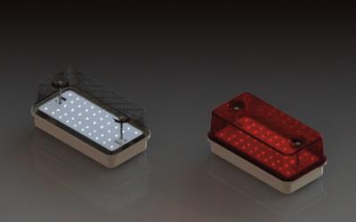 Marl 084 Series LED Bulkhead