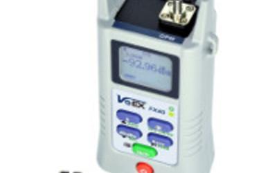 VeEX FX 40 optical power meter for HFC/CATV