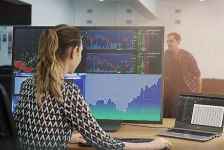 HP 4K display monitor
