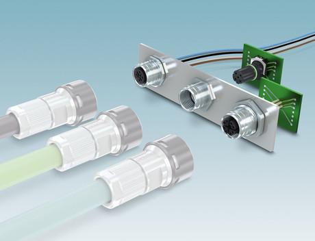 Phoenix Contact M12 circular connectors
