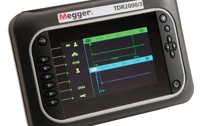 Megger TDR2000-3P dual-channel time domain reflectometer