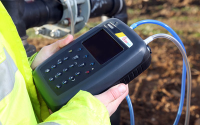 Geotech GA5000 portable landfill gas analyser
