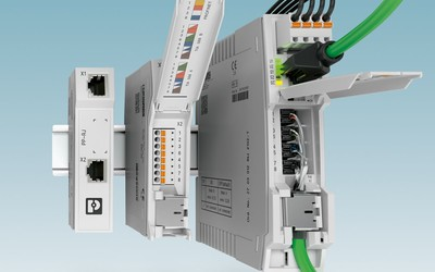Phoenix Contact Ethernet patch panels