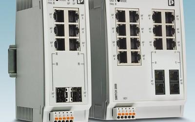 Phoenix Contact FL Switch 2000 16-port switches