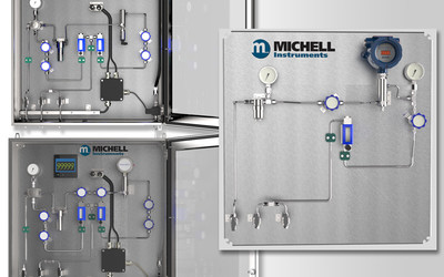 Michell Instruments ES70 configurable sampling system