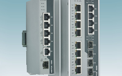Phoenix Contact 1000 Series and 4000 Series PoE switches