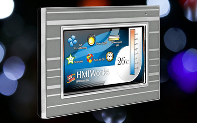 ICP DAS TPD-433-M2 4.3″ touch HMI device