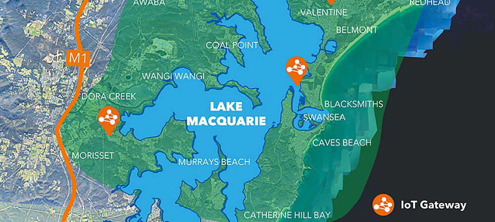Lake Macquarie to roll out LoRaWAN network