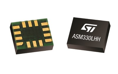 STMicroelectronics ASM330LHH precision MEMS sensor for automotive navigation