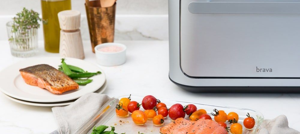This superfast oven comes with meal kits