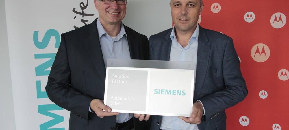 Siemens and Motorola forge innovation partnership
