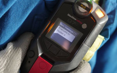 Blackline G7c connected gas detector