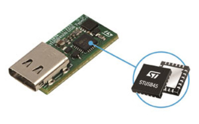 STMicroelectronics STUSB4500 standalone USB Type-C and power delivery controller