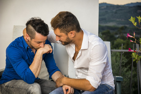 gay couple dating