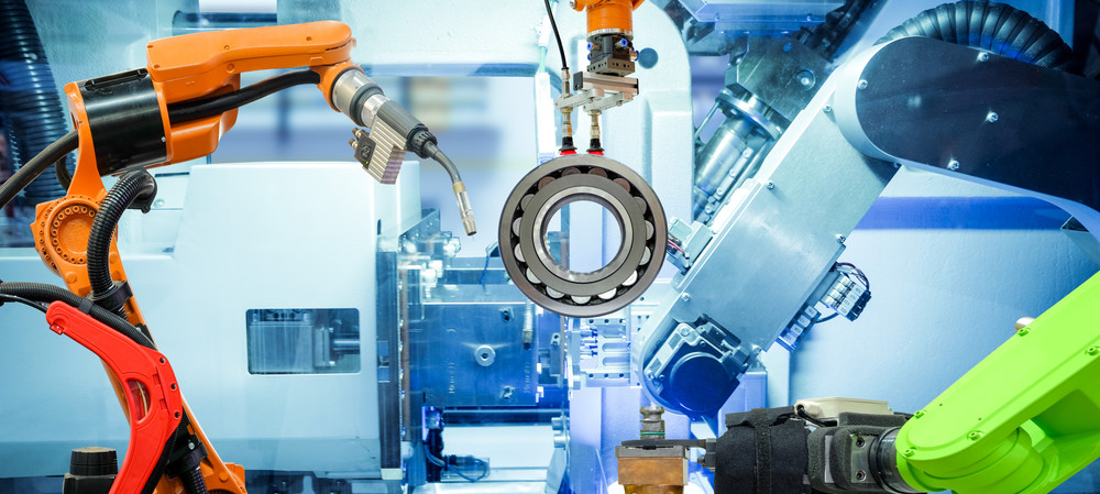 A history of industrial robots