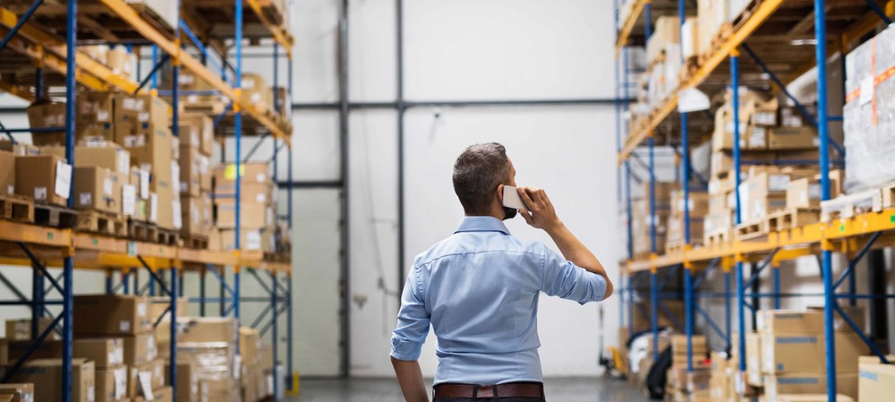 Using automation to improve warehouse logistics