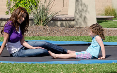 Cooke Industries in-ground trampoline