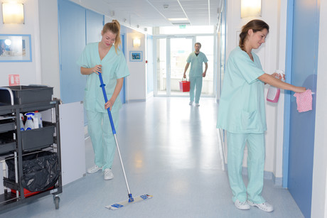 clinic cleaning