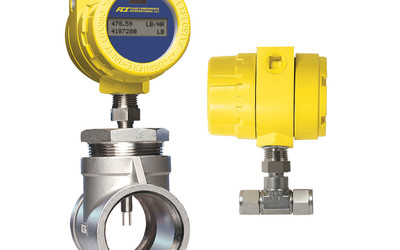 Fluid Components International ST75 air/gas flow meter for dosing applications