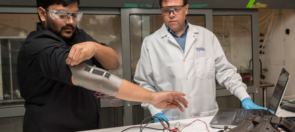Creating smart textiles with carbon nanotube-based sensors