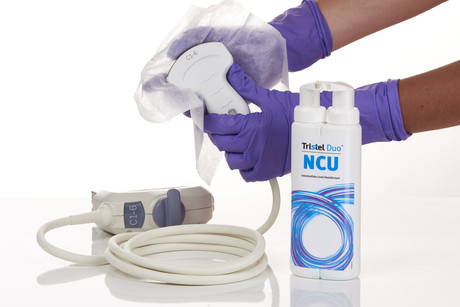 Ultrasound Disinfectants is a Risk to Patient Safety
