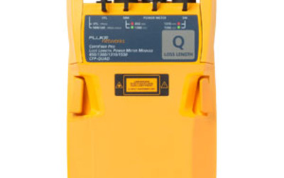 Fluke CertiFiber Pro Quad Optical Loss Test Set
