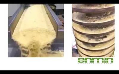 Enmin demonstrates its vibratory spiral elevators