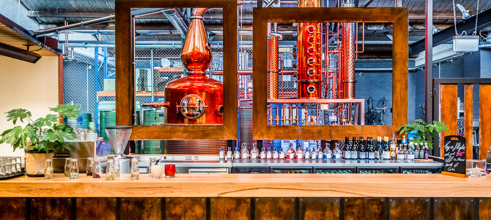 Automation in a boutique gin distillery