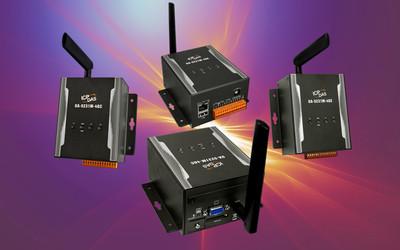 ICP DAS UA-5231M-4GE and UA-5231M-4GC Industrial IoT servers