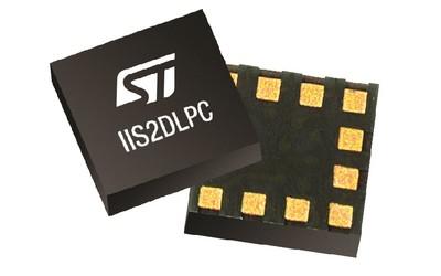STMicroelectronics IIS2DLPC 3-axis MEMS accelerometer