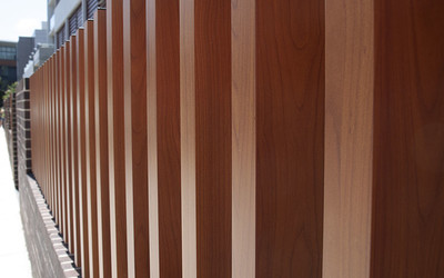 DecoWood Colour Series timber-look aluminium